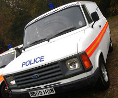 Police Ford Transit
