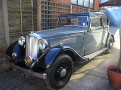 Rover 14 Sports - 1934-36
