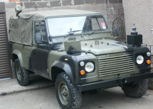 Military Tellycars Action Vehicles